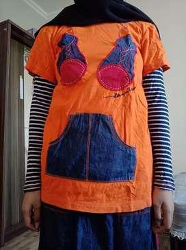 Baju Muslim Dannis (Baju+Rok)
