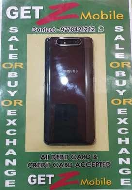 Samsung Galaxy A80 ( 20 days old ) Black