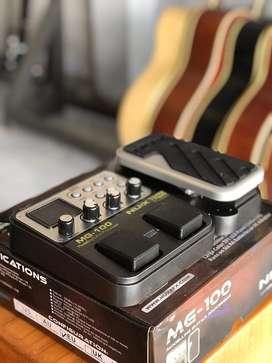 Efek Gitar Nux MG 100 Series Cocok Buat Pemula Bisa Looping