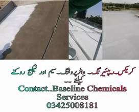 Waterproofing of roof, basement with imported chemicals