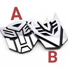 stiker 3d transformer  (stok banyak)