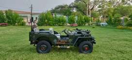 Open Jeep military auction