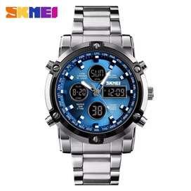 Jam tangan skmei digital analog