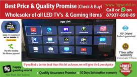 Brand New LedTv Smart/4K Uhd All Size(Unbeatable Price&QualityPromise)
