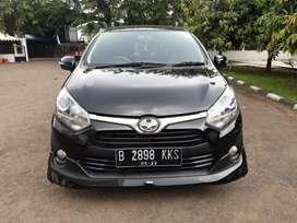 TDP 10 Juta Toyota Agya 1.2 TRD MT 2018 Hitam