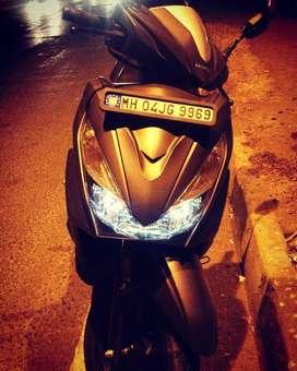 Honda Grazia Alloy Matte Grey