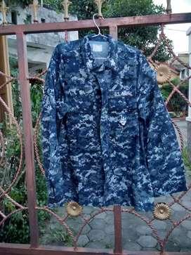 Jaket kemeja army USA