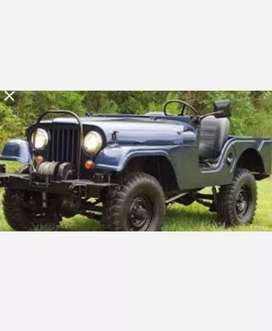 Mahindra classic jeep
