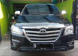 Toyota Innova G mt/manual 2014 Hitam Joss