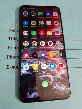 OPPO F11 PRO 5 MONTH OLD NEED MONEY PROBLEM