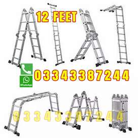 MULTI PURPOSE 12 FEET ALMUNIUM LADDER