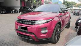 Range Rover Evoque Dynamic Luxury 2013 Red