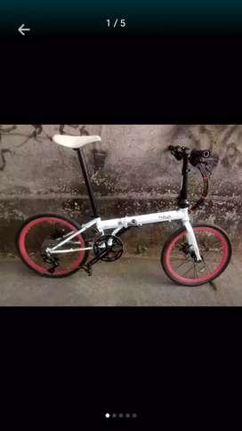 Sepeda lipat Fnhon storm cromo dicsbrake