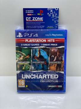 Uncharted Collection new sealed pack game for PS4 & PS5 : DT Zone