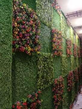 P V C Ceilling & Grass Garden