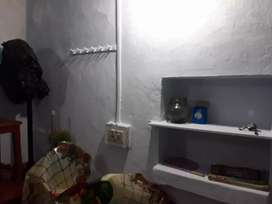 1 room,3 beds,attached bathroom,24 hr electricity,no electric bill.