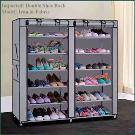 Double Shoe Rack Wardrobe 12 layers, Furniture is a language.