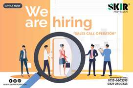 SALES CALL OPERATOR ( ONLY FEMALE REQUIRED )