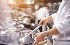 Cook required for a restaurant