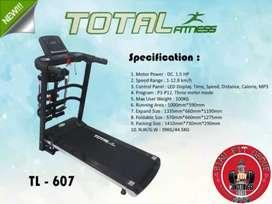 Terlaris treadmill multifungsi yg minimalis&terkesan mewah,BISA COD
