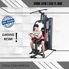 Alat olahraga Fitness HOME GYM 1 SISI BEBAN PLATE 50 KG TL008