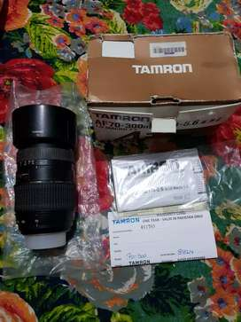 Tamron 70-300mm manual lens for nikon