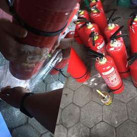 Isi ulang Tabung Pemadam Expired APAR refil Murah Gratis Antar Jemput