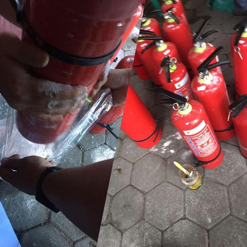 Isi ulang Tabung Pemadam Expired APAR refil Murah Gratis Antar Jemput 0