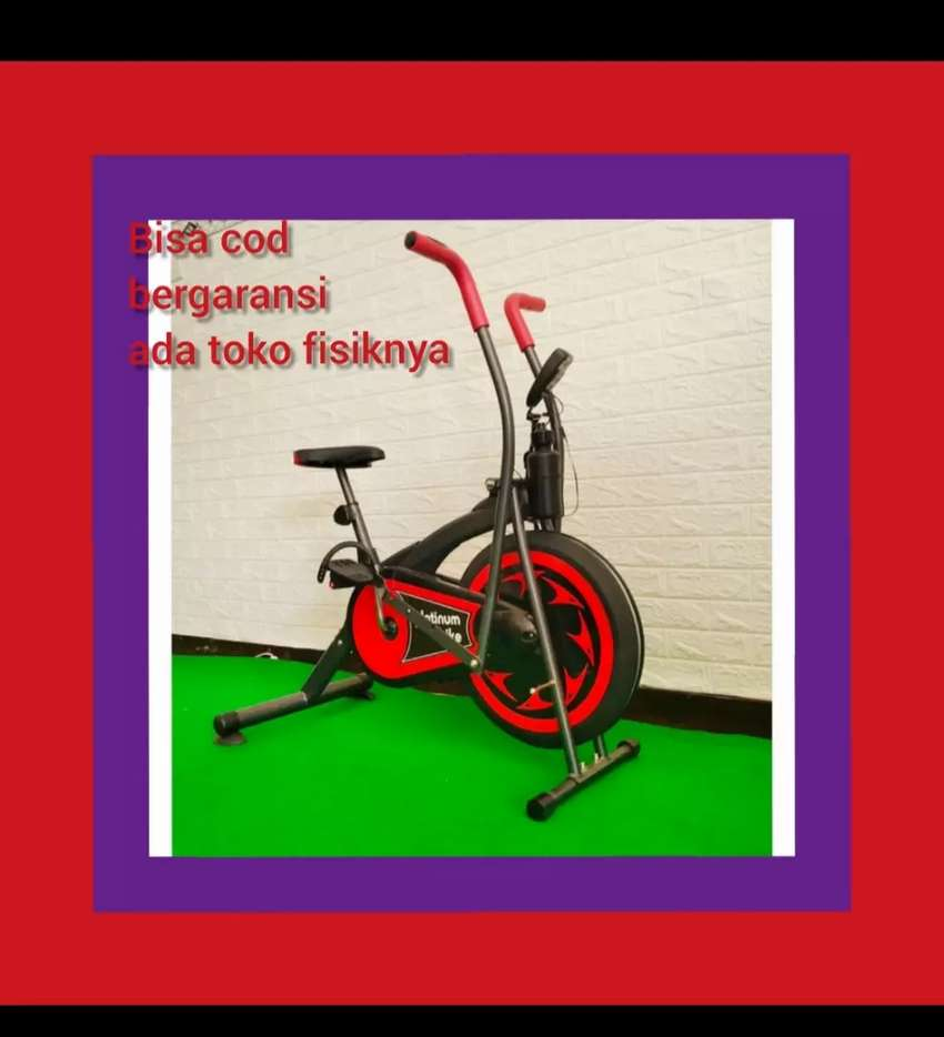 sepeda statis murah platinum bike alat fitnes 0