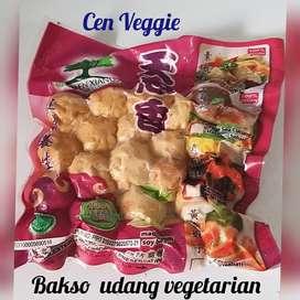 Bakso udang vegetarian