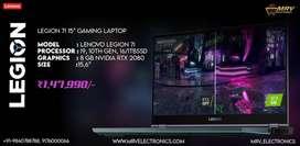 Lenovo Legion 7i Gaming i9-10750H NVidia RTX 2070 8GB GRPHIC WARRANTY