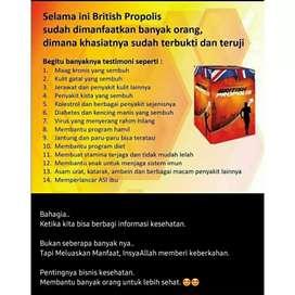 Obat Asamurat Diabetes,kolesterol,magg British Propolis100% OriHerbal