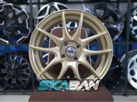 jual hsr wheel kamikaze fc ring 15 h4(100) gold di ska ban pekanbaru