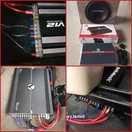 Paket Audio Subwofer + Amplifier or Monoblok | Boy Instaler