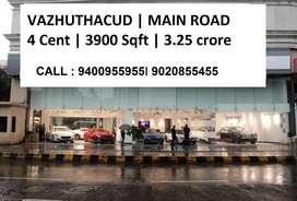 Vazhuthacaud Commercial 4 cent | 3900 Sqft | 3.25 Crore