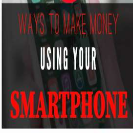 Data entry android phone based work with daily payment whats app now