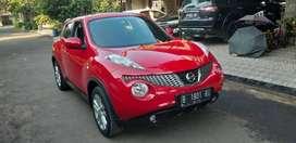 Nissan Juke 1.5 cvt RX Red Edition 2013 Km 37rb asli record pribadi