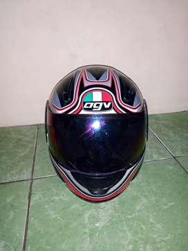 AGV helm full face helm murah helm classic helm AGV GP 1 helm vintage