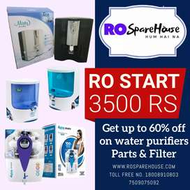 Ro water purifier 3500 start