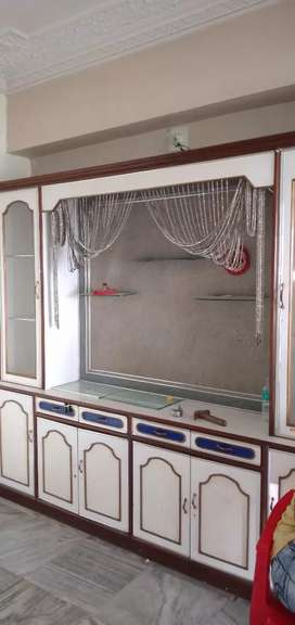 Semi furnished 2 BHK flat for rent