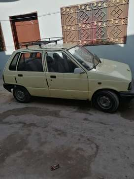 Suzuki mehran good condition yellow cab