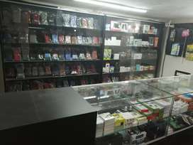Mobile shop running business