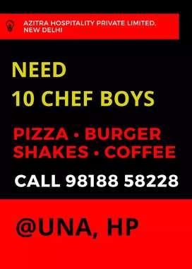 Chef for QSR Una