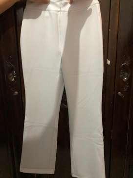 Celana fashion white