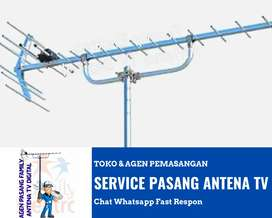 Pusat Teknisi Pasang Baru Antena Tv Digital Tebet Barat Jakarta