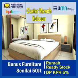 Rumah Jogja Ready Stock KPR DP 5%, Bonus Funiture Senilai 50jt