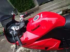 Moge Kawasaki Ninja 250 R Karbu Merah Original Sangat Istimewa