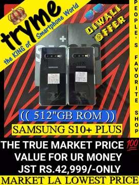 TRYME 512GB S10++ SAMSUNG Full Kit Box Fresh Conditions