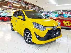 DP 19 jt Toyota Agya TRD 1.2 matic 2018 istimewa