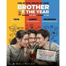 Dvd Drama Thailand Brother of The Year Thai movie film kaset Romance